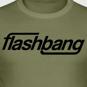 Flash-Bang Einzel - Ohne Donation - Männer Slim Fit T-Shirt