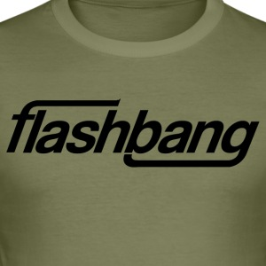 Flash Bang Single - Without Donation - Men's Slim Fit T-Shirt