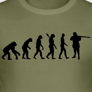 Evolution hunting jagers b - slim fit T-shirt