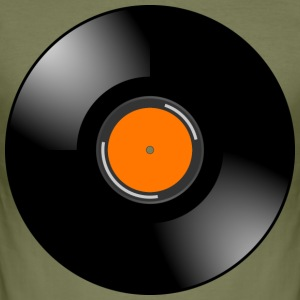 vinyl - Slim Fit T-shirt herr