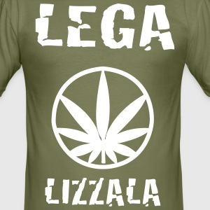 LEGAlizzala - Men's Slim Fit T-Shirt