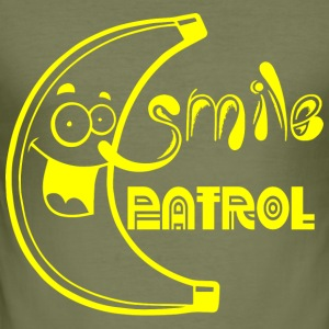 SMILE PATROL geel - slim fit T-shirt
