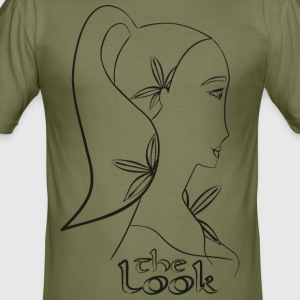 Gezicht 6A (serie The Look) - slim fit T-shirt
