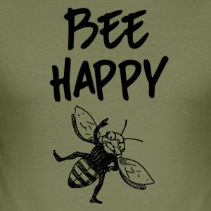 ++ ++ Bee Glade - Herre Slim Fit T-Shirt