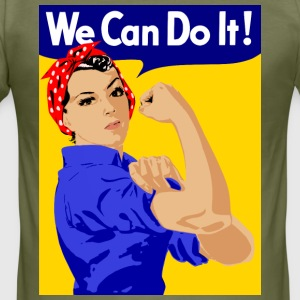 we can do it - Männer Slim Fit T-Shirt