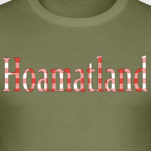 Hoamatland - Slim Fit T-shirt herr