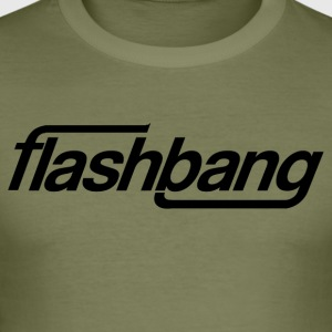 Flash Bang Single - 50kr Donation - Men's Slim Fit T-Shirt