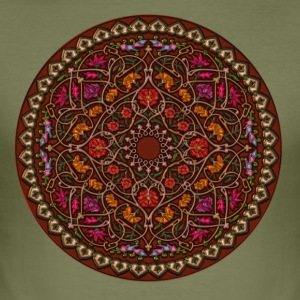 MANDALA I - Herre Slim Fit T-Shirt