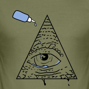 All Seeing Eye - Men's Slim Fit T-Shirt