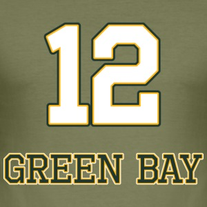 Green_Bay - Men's Slim Fit T-Shirt