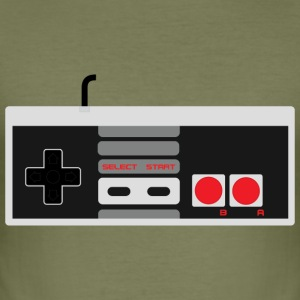Gamepad - Herre Slim Fit T-Shirt