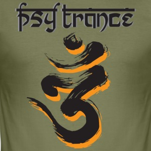PsyTrance - Männer Slim Fit T-Shirt