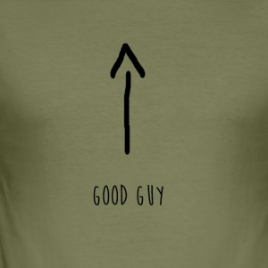 God fyr - Herre Slim Fit T-Shirt