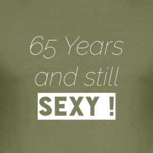 65 years T-Shirt & Hoody - Men's Slim Fit T-Shirt