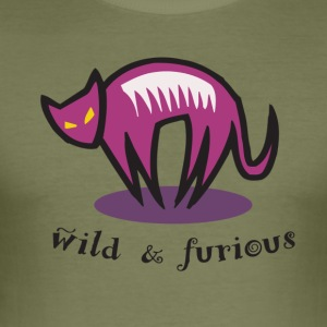 wild en woest - slim fit T-shirt