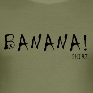 BANANEN! - Männer Slim Fit T-Shirt