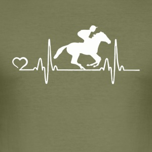Horse Racing - Heartbeat - slim fit T-shirt