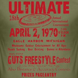 ULTIMATE TEE SHIRT CONTEST - Men's Slim Fit T-Shirt