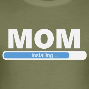 MOM installeren (1058) - slim fit T-shirt