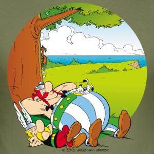 asterix_obelix test - Männer Slim Fit T-Shirt