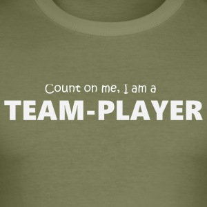 Team player 5 (2174) - Men's Slim Fit T-Shirt