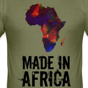 Made In Africa / Afrika - Herre Slim Fit T-Shirt