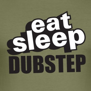 Eat Sleep Dubstep - Men's Slim Fit T-Shirt