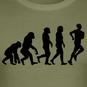 ++ ++ JOGGER EVOLUTION - Slim Fit T-skjorte for menn