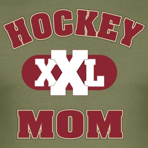 hockey MOM - Slim Fit T-skjorte for menn