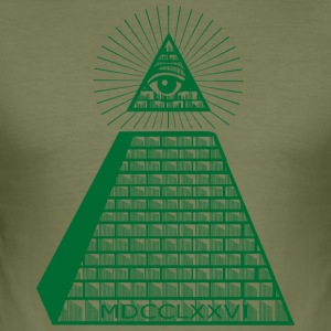 Eye of Providence - Herre Slim Fit T-Shirt