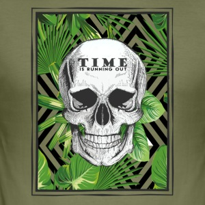 Time is Running Out Absolution // // - Men's Slim Fit T-Shirt