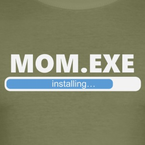 Installation Mom EXE (1056) - Tee shirt près du corps Homme