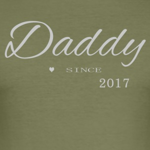Daddy 2017 - Men's Slim Fit T-Shirt