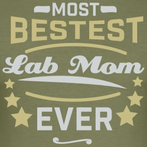 LABMOM - Slim Fit T-shirt herr