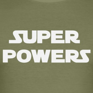 Super Powers (2182) - slim fit T-shirt