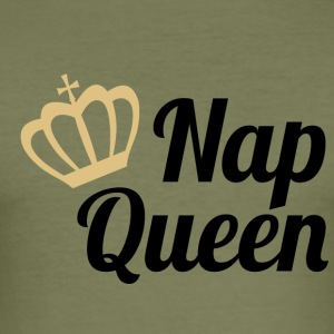 Nap Queen - Slim Fit T-skjorte for menn