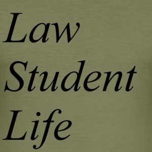Law Student Life - Men's Slim Fit T-Shirt