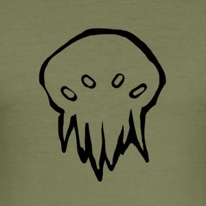 Tiny Cthulhu monster - Herre Slim Fit T-Shirt