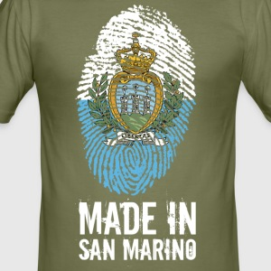 Made In San Marino / La Serenissima - Männer Slim Fit T-Shirt