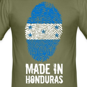 Gemaakt in Honduras - slim fit T-shirt