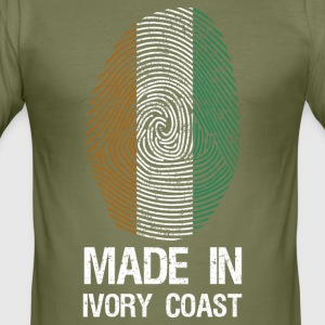 MADE IN IVORY COAST - Herre Slim Fit T-Shirt