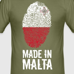 Made In Malta - Tee shirt près du corps Homme