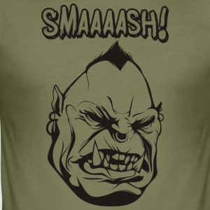 Smaaaash - Tee shirt près du corps Homme