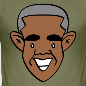 Tack, Obama! - Slim Fit T-shirt herr