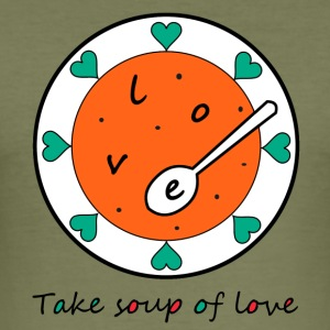 Love Soup - Men's Slim Fit T-Shirt