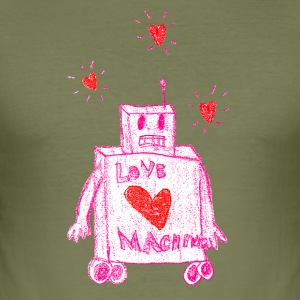 The Love Machine - Herre Slim Fit T-Shirt