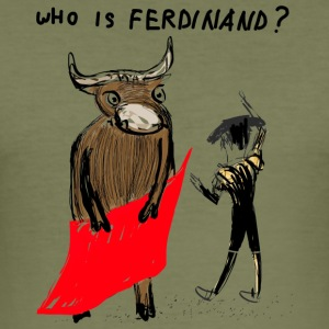 WHO is Ferdinand - Slim Fit T-shirt herr