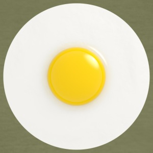 fried egg - Men's Slim Fit T-Shirt