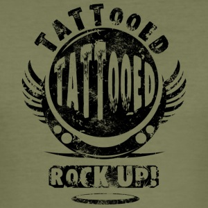 GETATOEËERD - BLACK - slim fit T-shirt