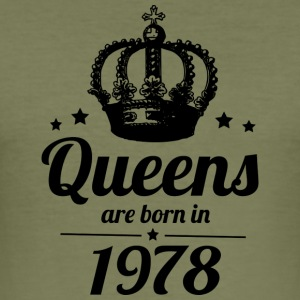 Queen 1978 - Men's Slim Fit T-Shirt